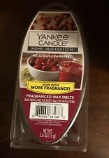 Yankee Candle Delicious Cranberry Fragrance Wax Melts 2.6oz Warmer