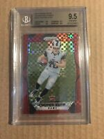 2017 COOPER KUPP PANINI PRIZM ROOKIE RC RED POWER REFRACTOR BGS 9.5 GEM MINT /49