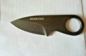 SCHRADE, SCHCC1,2'' blade Small straight knife without sheath, knife only