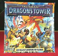 Talisman 3rd Edition Dragons Tower New Tower Boards & Cards Box Games Workshop