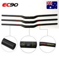 EC90 MTB Mountain Bike handlebar 25.4/31.8*660-760mm Riser Bar Full Carbon Matte