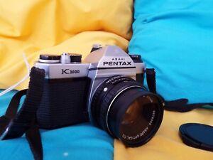 Pentax K1000 SLR with 1:2 50mm Pentax Lens ** FILM TESTED