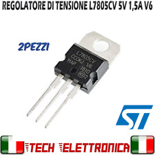 5 x Fairchild Semiconductor LM7805CT Regolatore di tensione lineare 1A 5V ± 4/% TO-220