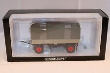 Minichamps 439 159095 Truck Trailer Canvas perfect mint in box 1:43