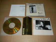"Suzanne Vega ""S/T"" JAPAN  24K GOLD CD w/OBI D33Y3397"