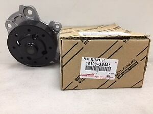 toyota genuine water pump. to suit corolla zre152