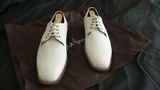 Cole Haan Oxford Nubuck Leather Ivory Lace Up Shoes Size 8 M Excellent