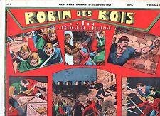 Récit complet. Les Aventuriers d'Aujourd'hui n°8. ROBIN DES BOIS. 1938
