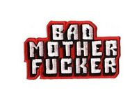 Pulp Fiction Patch Ricamata Nuovo Imballato Bad Mother Fucker Patch