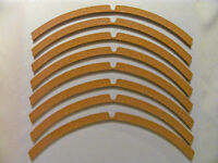 JBL Altec Cork Speaker Gasket OEM, D130 (8pcs.)