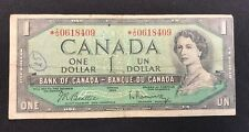 1954 Canadian $1 Dollar Bill - Beattie/Rasminsky - BC-37bA - *I/O S/N# (BB#1028)