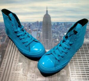 Converse x OPI Chuck Taylor All Star High Cyan Mens Size 5 or Womens 7 165659c