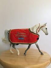 BREYER SR CHRISTMAS HORSE SNOWFLAKE DAPPLE GREY MISSOURI FOX TROTTER MOLD