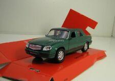 Welly DieCast Modelcar 1/36-39 Russia Volga GAZ 31105 green metalic new and box