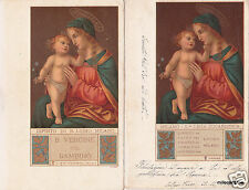 # MADONNA NELL'ARTE ediz. CHIATTONE- 2 CART. Dip.di B. LUINO- Milano (4)