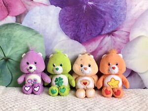 Vintage 2003 Care Bears Vivid Imaginations Bundle Soft Toy Plush 80s Cartoon