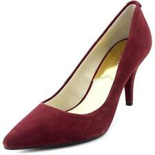 Stiletto Suede Pumps, Classics Solid Heels for Women