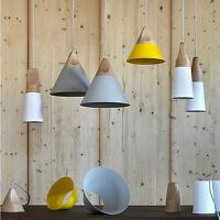 Kitchen Pendant Light Bar Lamp Bedroom Ceiling Lights Home Wood Pendant Lighting
