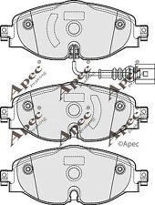 1x OE Quality Brand New Apec Brake Pad Set - PAD1902 - 12 Month Warranty!