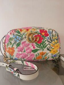 *LAST CHANCE TO BUY* LIMITED EDITION KEN SCOTT X GUCCI MARMONT SMALL BAG