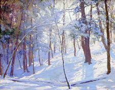 Palmer Walter Winter Woods Canvas Print 16 x 20  #6063