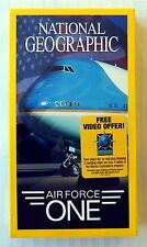 National Geographic - Air Force ~ New Sealed VHS Movie ~ Rare OOP Video Tape