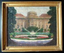 VIENNES AUTRICHE PALAIS SCHWARZENBERG HISTORIQUE signé KRAUSS XIX XX