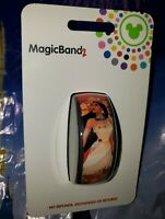 NEW DISNEY POCAHONTAS RED Magic Band 2 Magicband It Link Later Parks