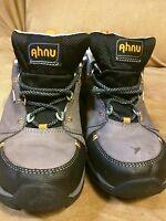 Ahnu EVENT low top boot hiking trail work size 8.5 women Vibram Soles waterproof
