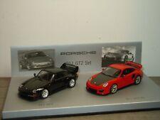 Porsche 911 993 GT2 / Porsche 911 997 GT2 RS Set - Minichamps 1:43 in Box *39140