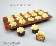 15 Chocolate Peanut Butter Wheel Caramel Cup Silicone Mould bakeware cake Mold