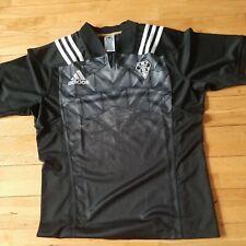 C A Brive Correze Limousin France adidas Rugby Maillot Jersey Noir Gris XL Neuf