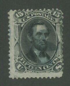 1867 États-unis Envoi Tampon #98 D'Occasion Délavé Annulation
