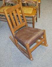 Mission Oak Child's Rocker Rocking Chair or Sewing Rocker – Limbert