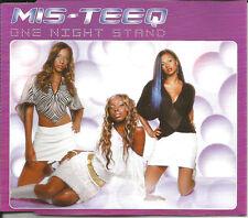 MIS TEEQ One Night Stand w/ 2 EDITS & MIX & VIDEO CD single SEALED USA SELLER