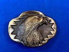 Vintage Raised Eagle Hawk Bird western belt buckle - hunting? Gift?