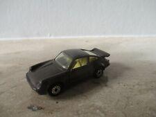 altes MATCHBOX Superfast Porsche Turbo Nr. 3 England schwarze Bp.
