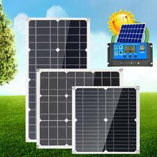 12V Solarmodul Solarpanel 30W 100W 200W Solarzelle Wohnwagen Wohnmobil Camping