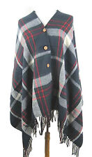 Unbranded Casual Button Coats & Jackets Ponchos for Women