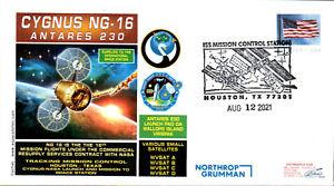 2021 Northrup Grumman NG-16 Cygnus ISS Docking Houston 12 August Lollini