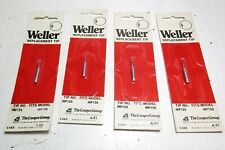 4 New Weller Soldering Iron Replacement Tips Mp133 Fits Mp126 Iron