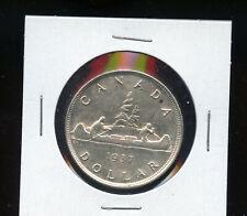 1937 Canada Silver Dollar AU DCB47