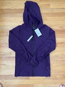 Men's Purple Nike Tech Pack Hooded Full Zip Jacket SZ XS