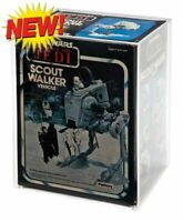 GW Acrylic Display Case - Boxed Kenner Vintage AT-ST Scout Walker (AVC-017)