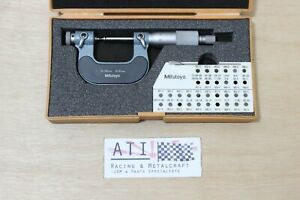 Mitutoyo Outside Screw Thread Micrometer 0-25mm, 126 - 125 , Made in Japan