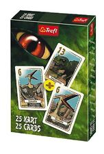 Trefl DINOSAURI Peter Nero mazzo 25 carte da gioco Bambini playing cards