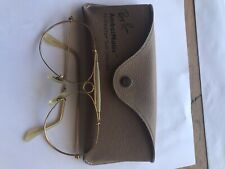 Vintage B&L Ray Ban Bausch & Lomb Ambermatic Shooter 62mm Frame w/ Case