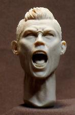 """Cristiano Ronaldo JUVENTUS HEAD SCULPT, Action figures 1/6 scale .12"""" A.57"""