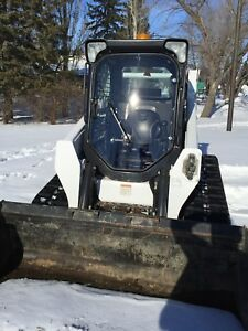 "1/2"" Polycarbonate Lexan Bobcat M new style door! Warranty.skid steer door only!"