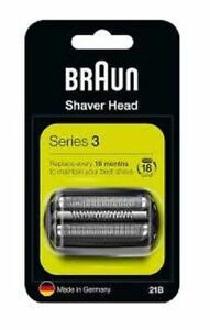 Braun Series 3 21B Electric Shaver Head Replacement -Comp with Series 3 shaver!